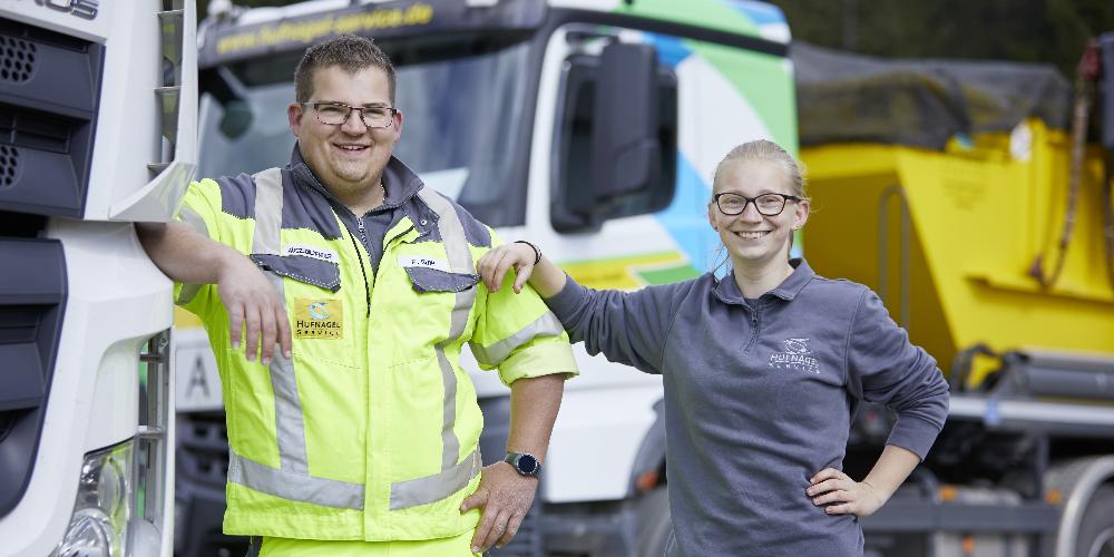 Hufnagel Service: Karriere Symbolbild für die Stelle Ausbildung zum Berufskraftfahrer (m/w/d) für 2021